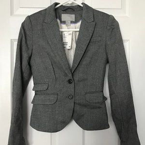 H&M Gray Blazer - New With Tags